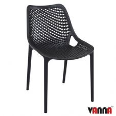 Vanna Spring Side Chair - Black